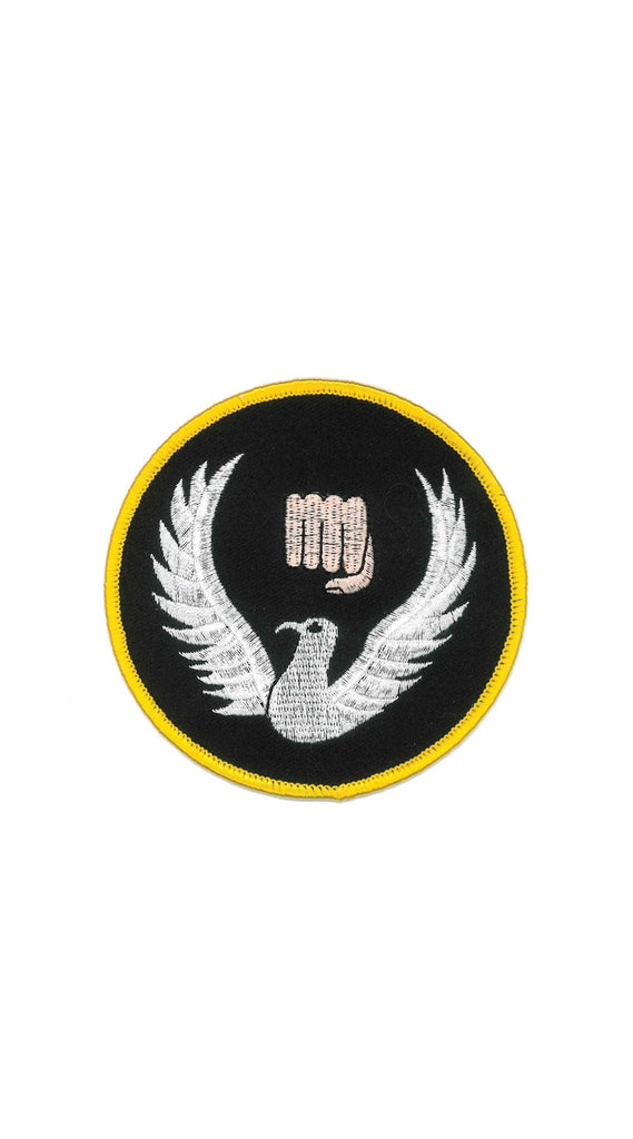 Patch: 1124 Hapkido Bird and Fist (3.5