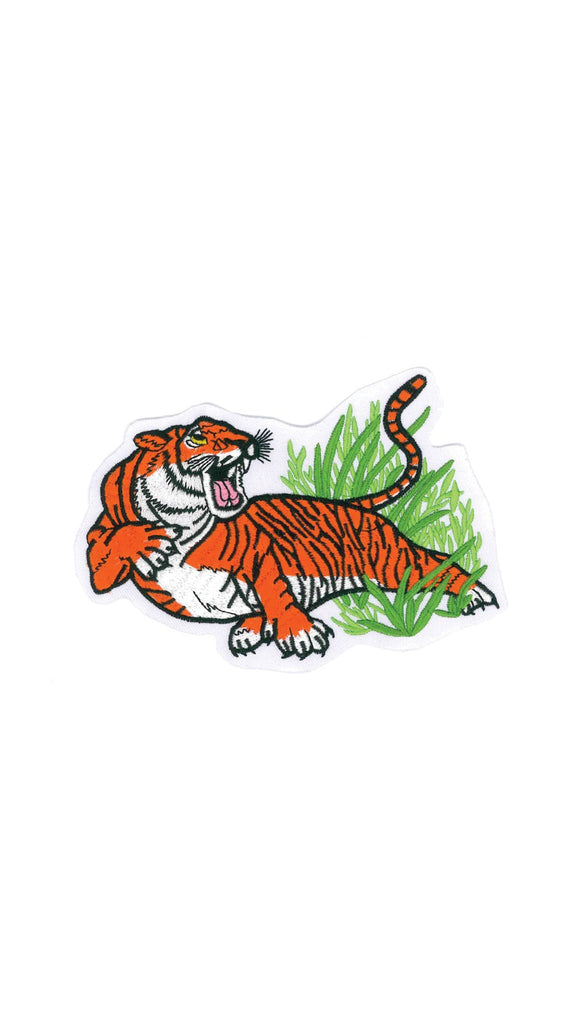 Patch: 1212 Tiger On Grass Patch (10