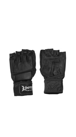 Bag Glove: Leather Wristwrap Bag Gloves