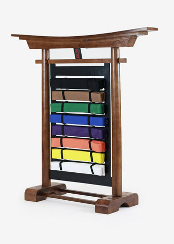 Budo Desktop Belt Display: 10 Levels