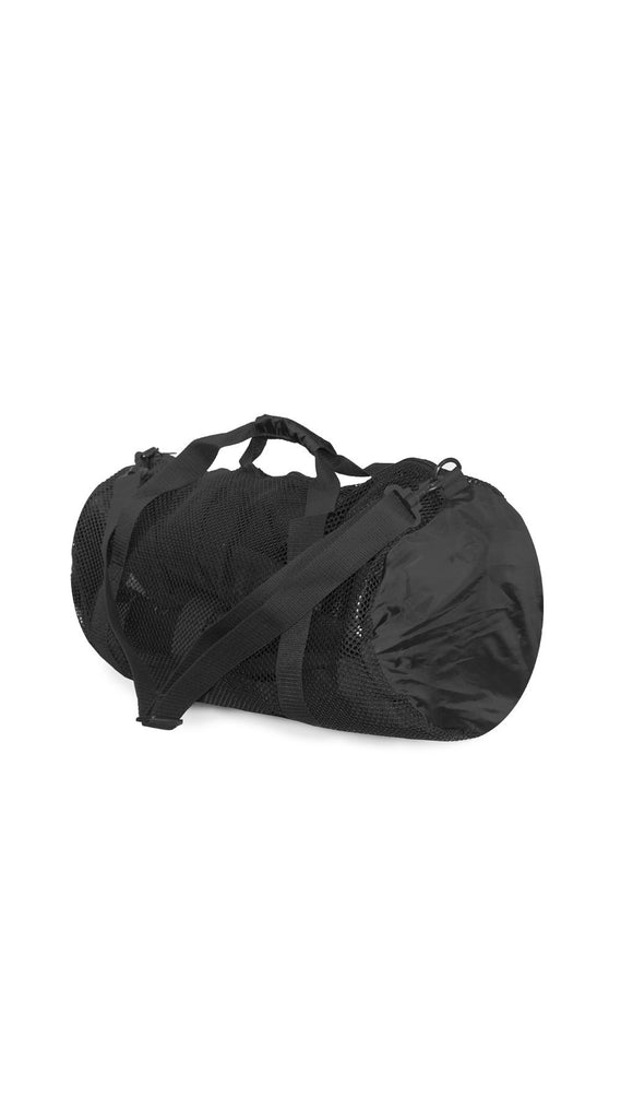 Duffel Bag: Mesh Round Sports Bag
