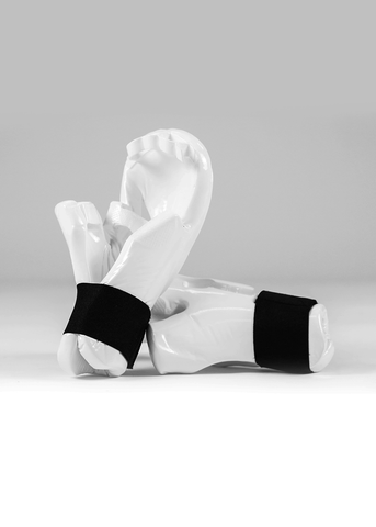 ProFoam White Sparring Mitts