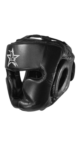 Headgear: Leather Boxing Adjustable Headgear