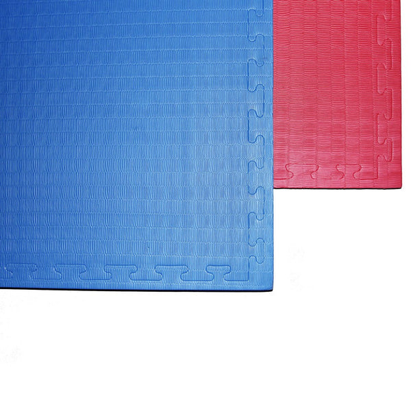 Puzzle Mat: Reversible Red/Blue Foam Training Mat 41.5