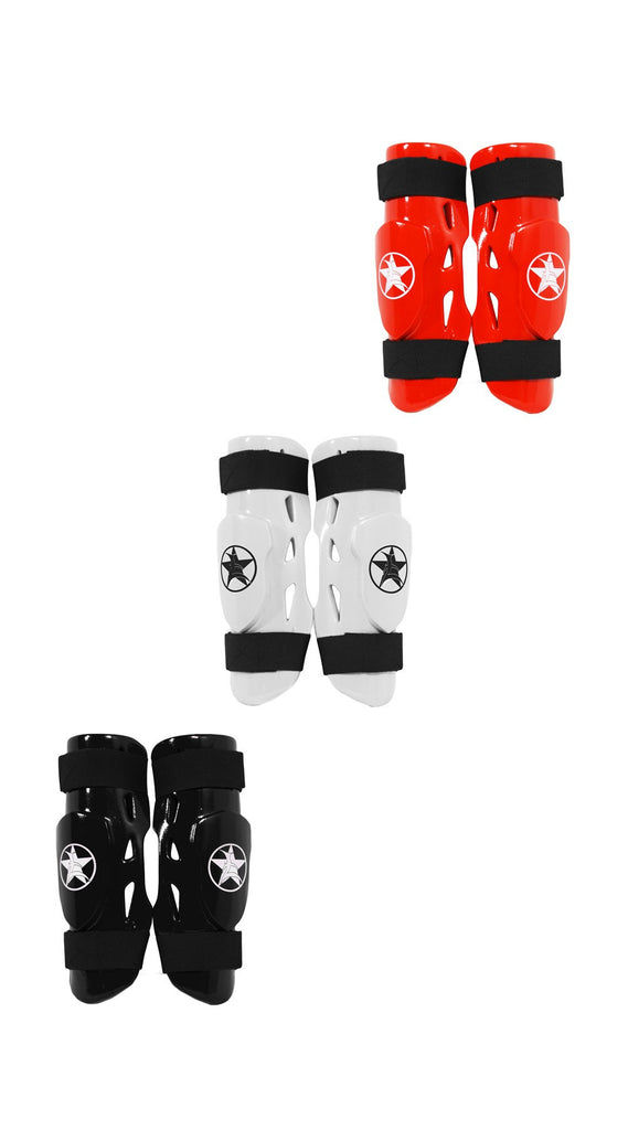 Shin Guard: Pro Karate Shin Guard and Forearm Pad