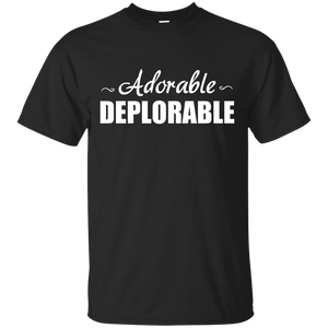Adorable Deplorable T Shirt, Vote Trump for President - Teemisa