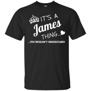 Name Shirts: It's a James thing, you wouldn't understand - Teemisa