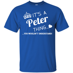Name Shirts: It's a Peter thing, you wouldn't understand - Teemisa