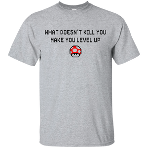 Mario Shirt: What Doesn't Kill You Make You Stronger - Teemisa
