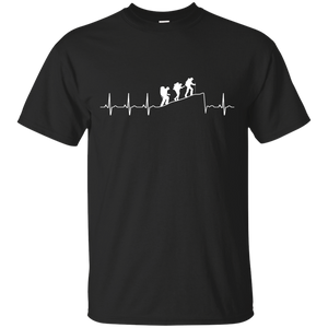 Hiking t shirt: Hiking Heart Beat T-Shirt, Hoodies, Tank Top - Teemisa