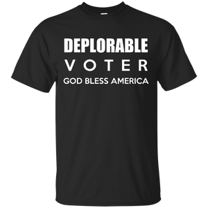 Deplorable Voter - God Bless America, Bless Trump - Teemisa