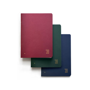 Cross Grid Note Book | 3 Pack | All Colors