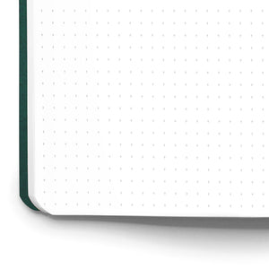 Cross Grid Note Book | 3 Pack | Green