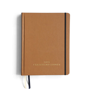 Leather/Hardcover | Natural Brown