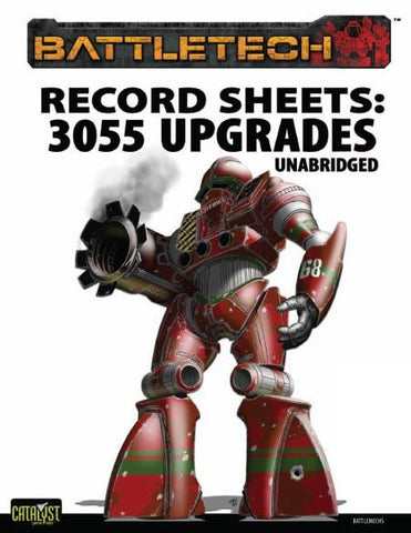 Record Sheet: Total Warfare Style: 3055 Upgrade Unabridged
