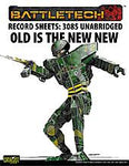Record Sheet: Total Warfare Style: 3085: Old is the New New