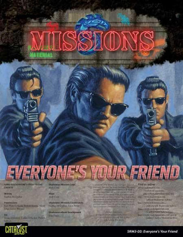 Mission: 03-00: Everyone's your Friend