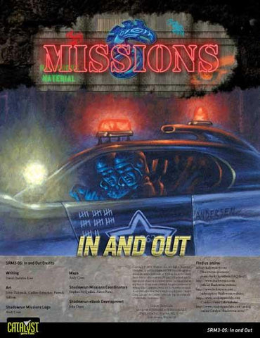 Shadowrun Missions: 03-05: In and Out