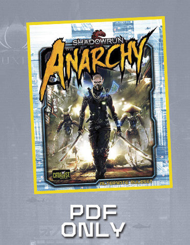 Shadowrun: Anarchy (free PDF with Book purchase)