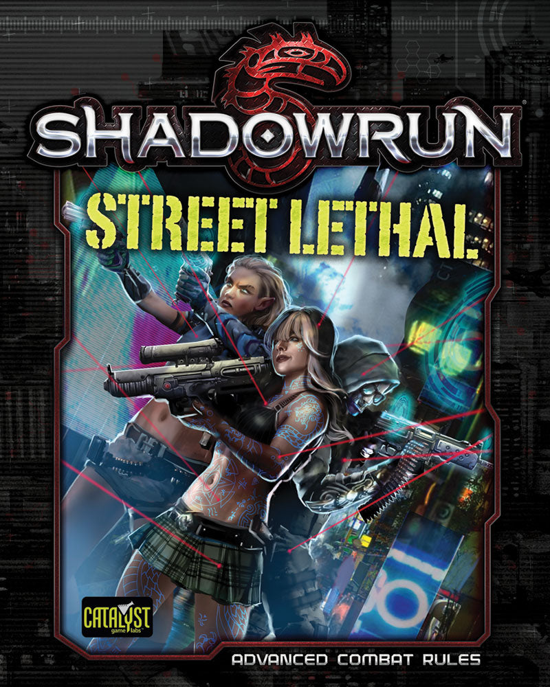 Shadowrun: Street Lethal (Advanced Combat Rules) PDF