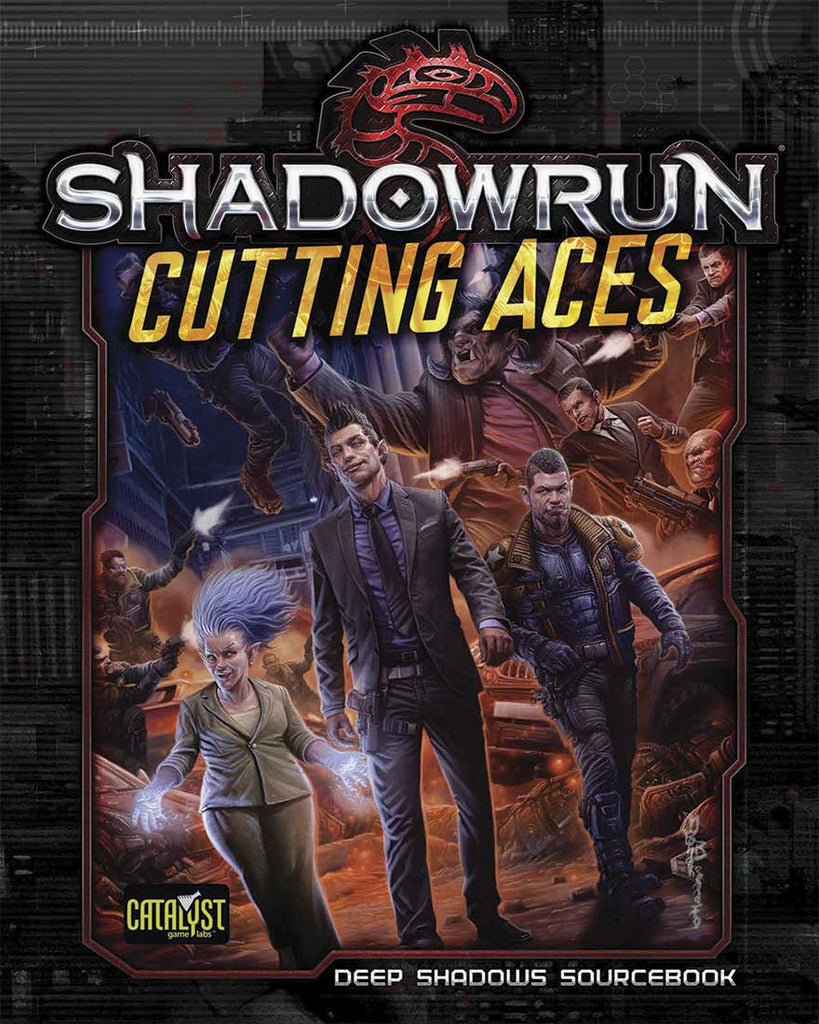 Shadowrun: Cutting Aces (Book Only)