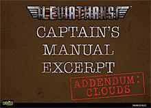 Leviathans: Captain's Manual Excerpt: Clouds Addendum