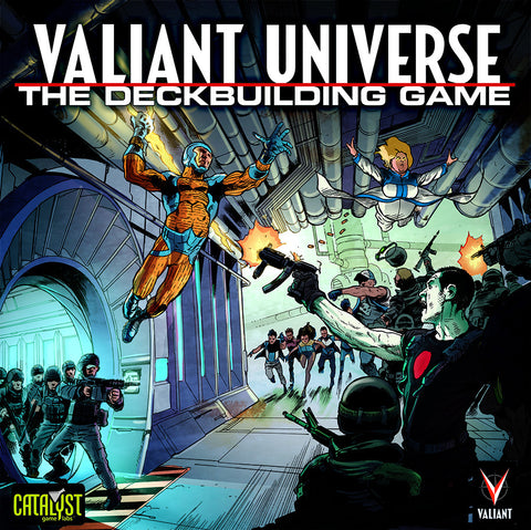 Valiant Universe: The Deckbuilding Game