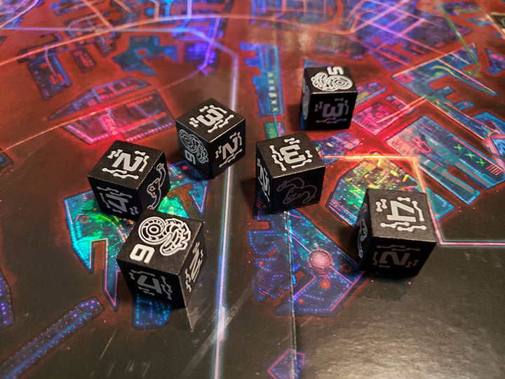 Shadowrun Executive Dice Set Catalyst Game Labs Store