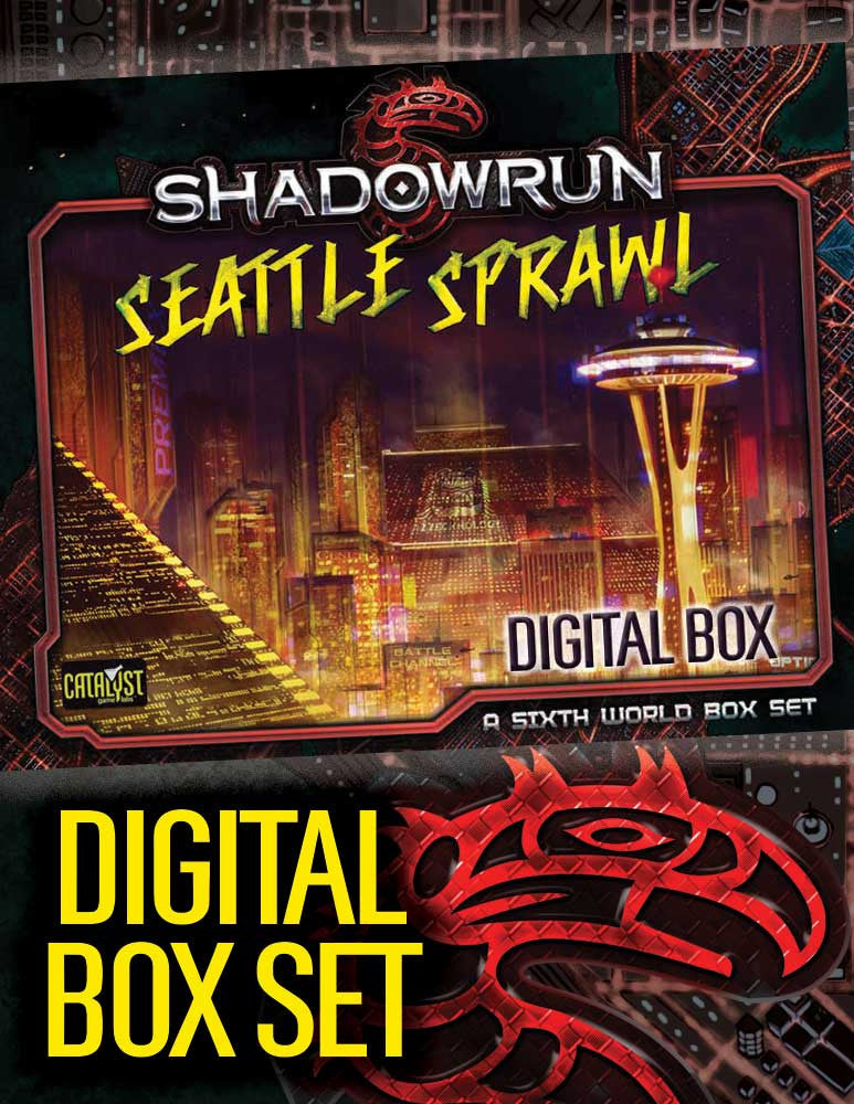 Seattle Sprawl Box Set Catalyst Game Labs Store