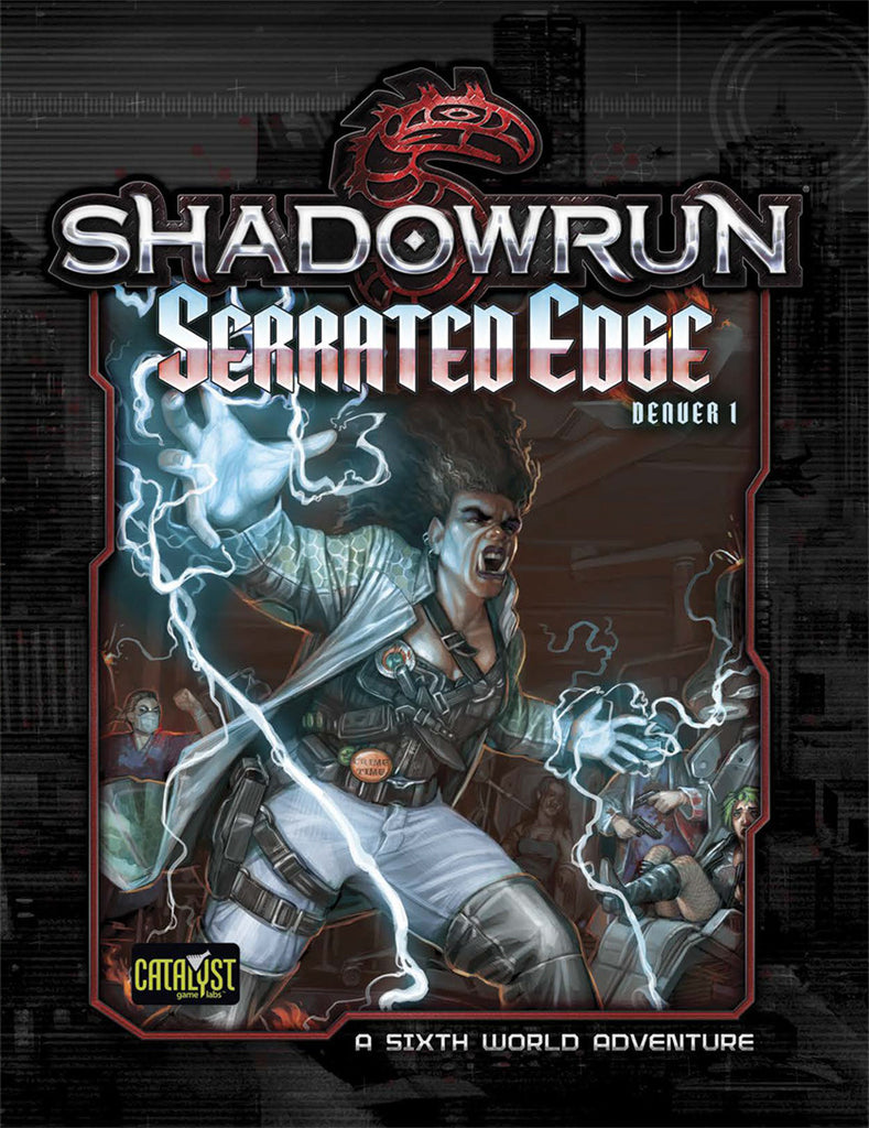 Serrated Edge (Denver Adventure 1)