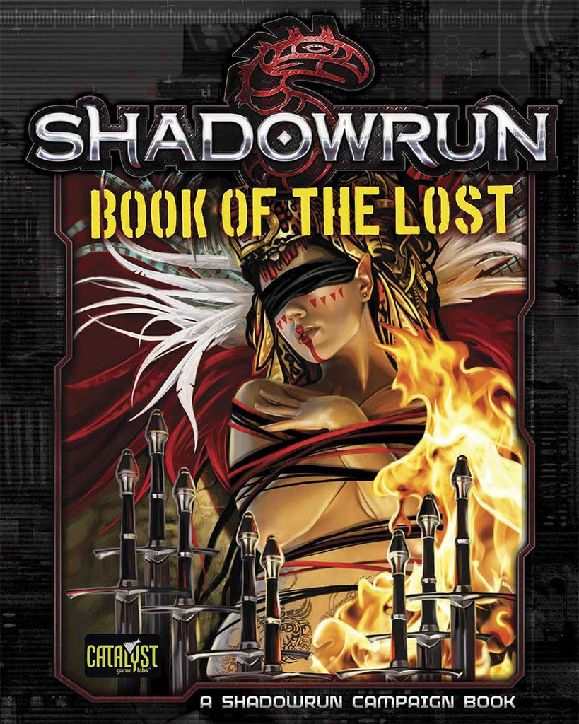 Shadowrun: Book of the Lost (Shadowrun Campaign Book) (Book)