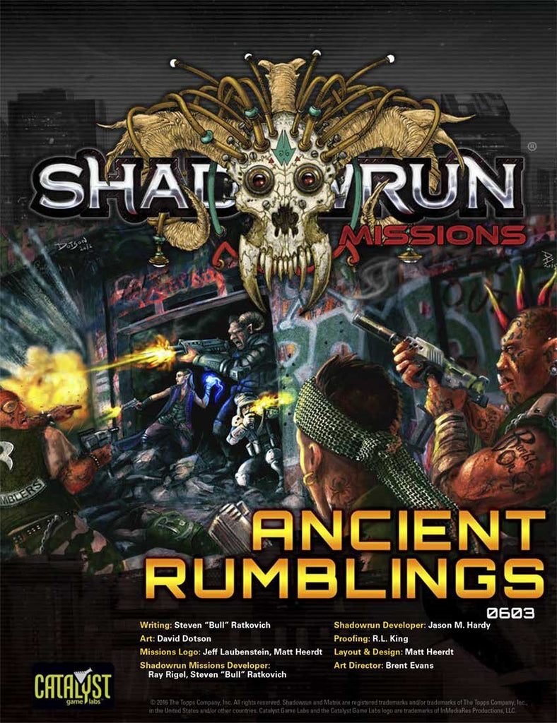 Missions: Ancient Rumblings (0603)