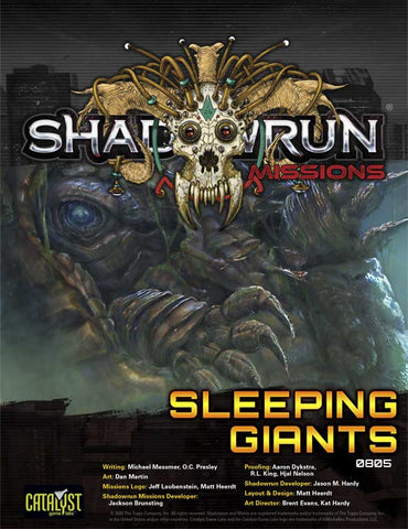 Shadowrun Missions: Sleeping Giants (08-05)