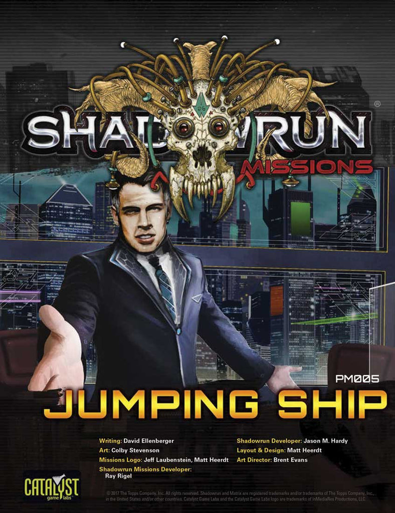 Shadowrun Missions: Jumping Ship (Prime Mission 005)