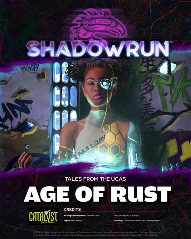 Shadowrun: Tales from the UCAS: Age of Rust (PDF)