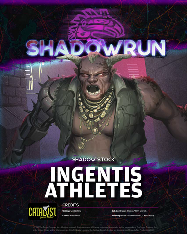 Shadowrun: Shadow Stock: Ingentis Athletes