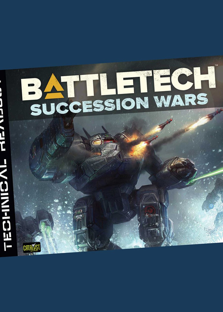 BattleTech Technical Readout Succession -  Catalyst Game Labs