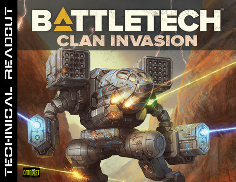 Battletech Technical Readout Clan Invasion -  Catalyst Game Labs