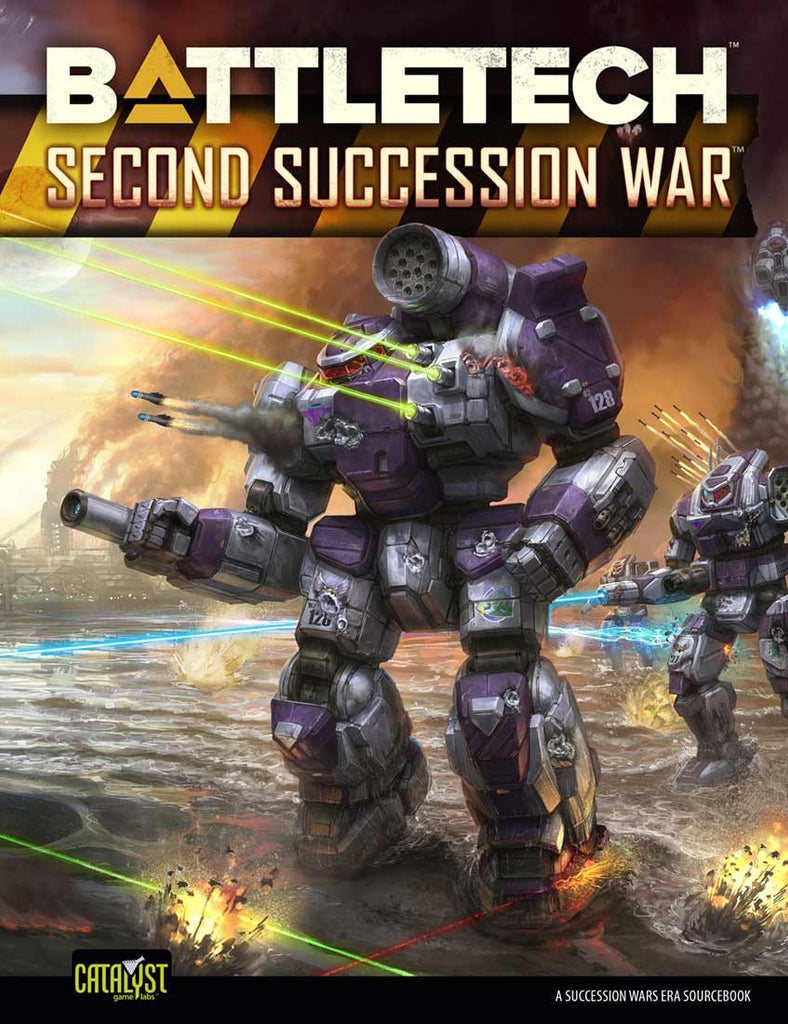 BattleTech: Historical 2nd Succession War (T.O.S.) -  Catalyst Game Labs