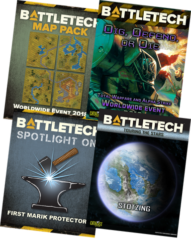 BattleTech: Dig, Defend, or Die BUNDLE