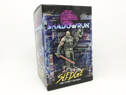 "Shadowrun: ""Sledge"" Limited Edition Statue"