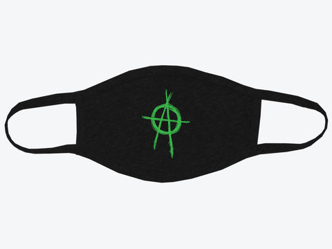 Shadowrun Face Mask: Ancients/Anarchy Symbol