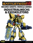 Record Sheet: Vehicle Annex, IndustrialMechs & Exosk