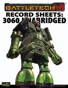 Record Sheet: Total Warfare Style: 3060 Unabridged