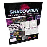 Shadowrun Sixth World: Gamemaster's Screen