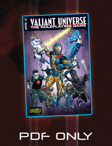 Valiant Universe: The Roleplaying Game (PDF)