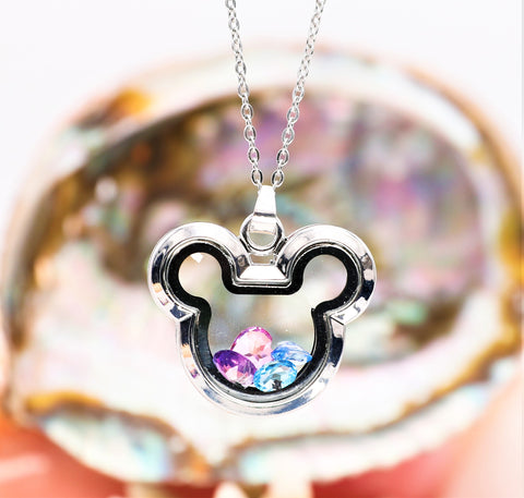 It's Magic Stainless Steel Gem Locket