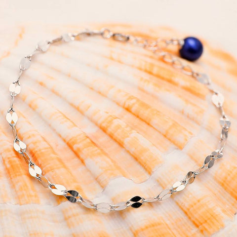 Crashing Waves Sterling Silver Adjustable Bracelet