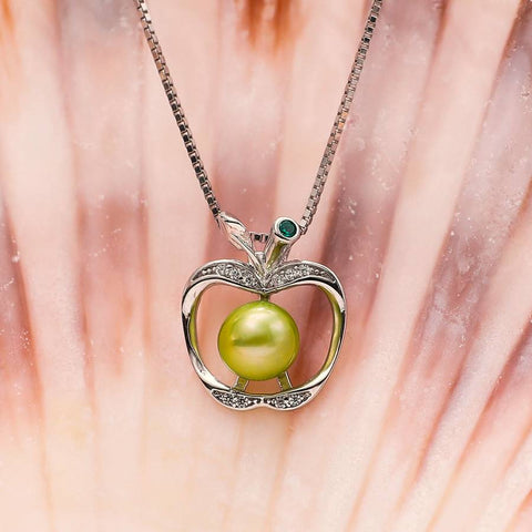 Granny Smith Sterling Silver Pendant