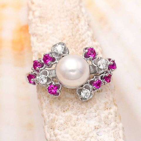 Sweet like Candy Sterling Silver Ring